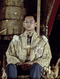 HM the King at the Silver Jubilee